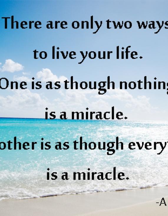 COACH YOUR LIFE. Il miracolo della vita.