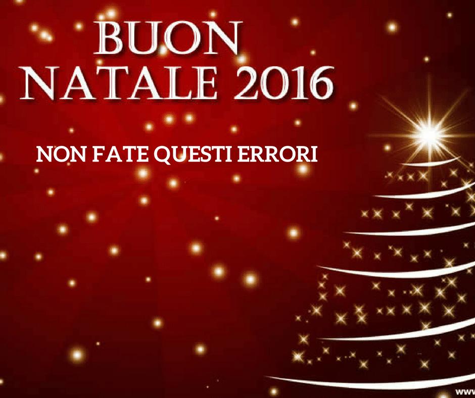 BUON NATALE 2016! LA MACCHINA DEL TEMPO